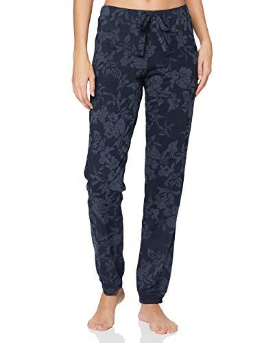Marc O'Polo Body & Beach Damen Mix W-Pants Pyjamaunterteil, Blauschwarz, S