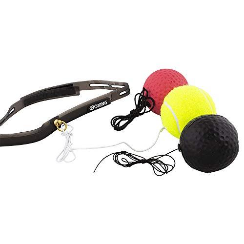 Calma Dragon Boxing Speedball MKHPB07, Balón de Entrenamiento para Fitness, Incluye Tres...