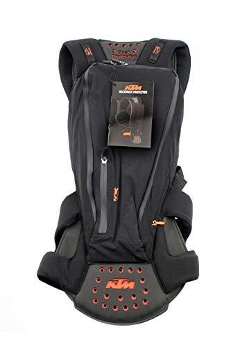 KTM - Mochila con protector de espalda Selección grande (M)