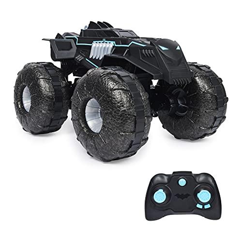 DC Comics Batman, All-Terrain Batmobile Remote Control Vehicle, Water-Resistant Batman Toys for Boys Aged 4 and Up