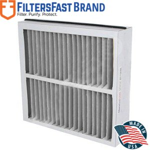 Filters Fast Compatible Replacement for Trane BAYFTAH21M 21.5' x 21' x 5' (Actual Size: 19 1/2' x 21.1' x 5') 2-Pack MERV 11