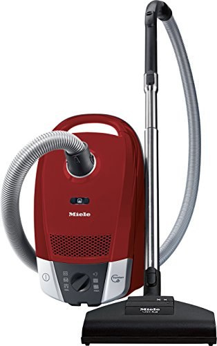 Miele Compact C2 Cat & Dog Powerline, Autumn Red, Bagged Cylinder Vacuum Cleaner, Corded, 10931650