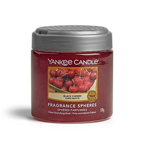 YANKEE CANDLE - Fragrance Spheres Ambientador, Dura hasta 45días, Cereza Negra