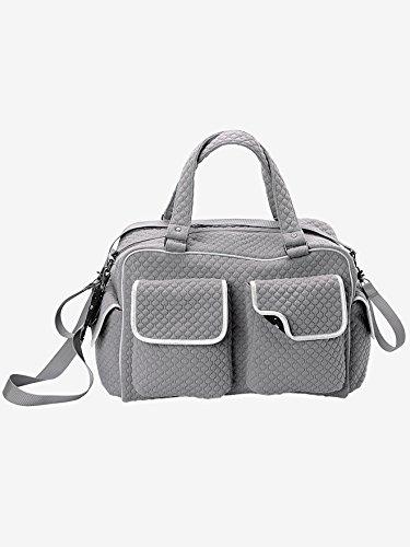 VERTBAUDET Wickeltasche mit vielen Fächern grau 0