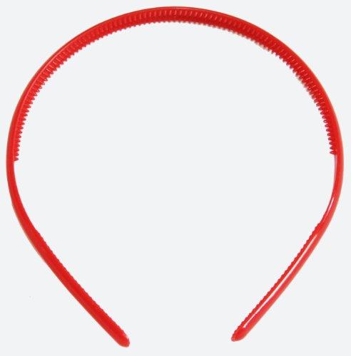 Filles 8 mm Rouge école couleurs Alice Bandeau cheveux