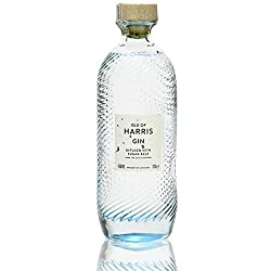 The award-winning Isle of Harris Gin is made in our home village of Tarbert in the Outer Hebrides, every drop distilled in a small copper gin still known as 'The Dottach', before being bottled and sealed by hand. A beautifully designed bottle capture...