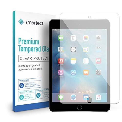 smartect Beschermglas compatibel met ipad mini 4 / mini 5 - screen protector met 9H hardheid - bubbelvrije beschermlaag - antivingerafdruk kogelvrije glasfolie