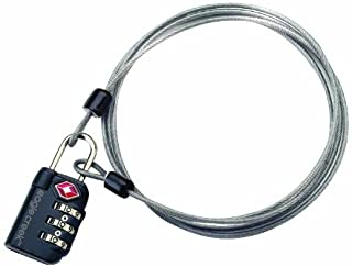 Eagle Creek 3-Dial TSA Lock and Cable