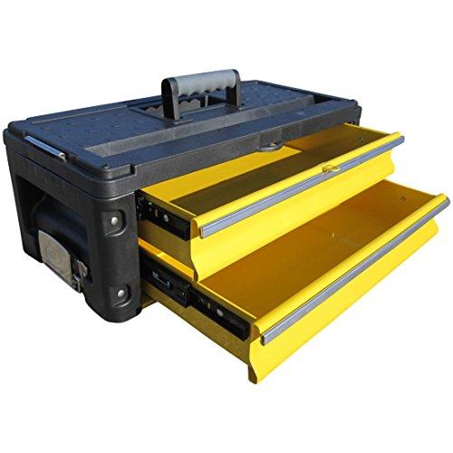 Erweiterungsbox Werkzeugkiste mit 2 Laden für unsere Trolleys Serie 305 von AS-S