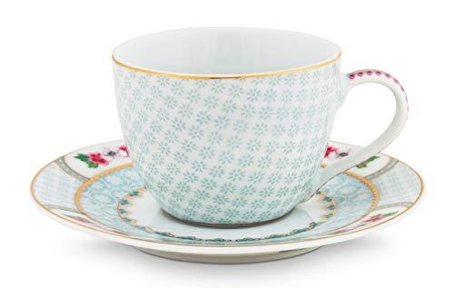 Espresso Cup & Saucer Blushing Birds White 120ml
