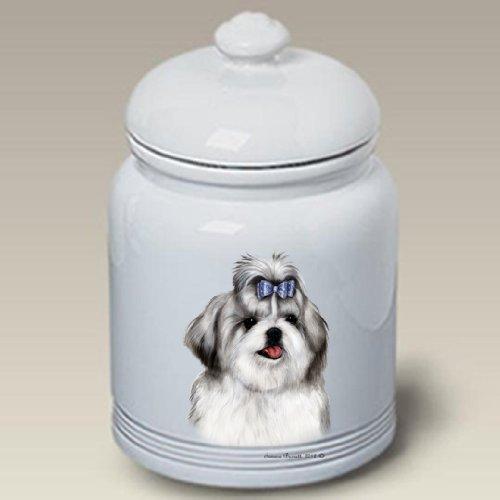 Shih Tzu Silver - Tamara Burnett Treat Jars