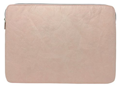 Comfyable Laptop Sleeve Case for 13-13.3 Inch Mac Air & MacBook Pro (2012 to 2017) - Waterproof Notebook Case- Pink