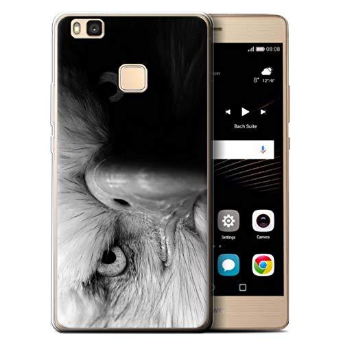 eSwish Custodia/Cover/Caso/Cassa Gel/TPU/Prottetiva Stampata con Il Disegno Mono Animali dello Zoo per Huawei P9 Lite (2016) - Eagle/Uccello Rapace