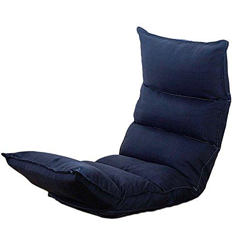 XING ZI LAZY SOFA G-Y Canapé Paresseux, Chaise sur Le Lit, Pliable, Balcon Baie Vitrée Coussin, Petit Dossier De Sol, Coton (Couleur : Vert)