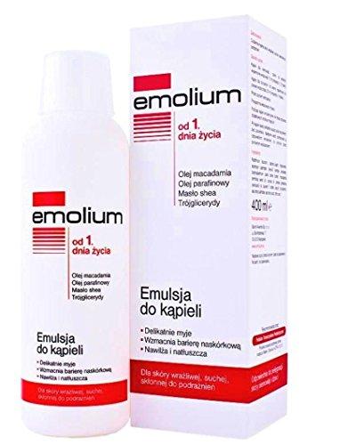 Emolium Bath Emulsion Dry Atopic Skin Baby and Adult 400ml by Emolium