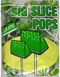 Big Slice Pop Green Apple 48 Pop Bag