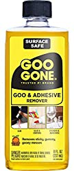 Goo gone is an excellent way to clean your hard side luggage and keep it looking new