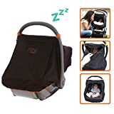 SnoozeShade Baby Car Seat Canopy
