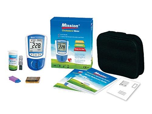 On Call Mission 3 in 1 Messgerät | zur Bestimmung der Cholesterinwerte Triglyceriden, Gesamtcholesterin, LDL und HDL
