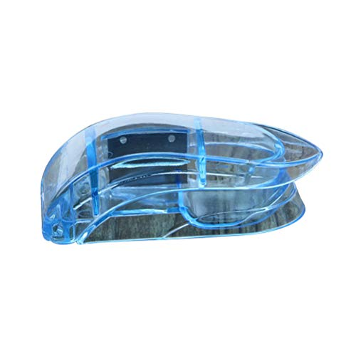 Supervox pillensnijder voor twee of vier willekeurige pillen, draagbaar, voor op reis, blauw