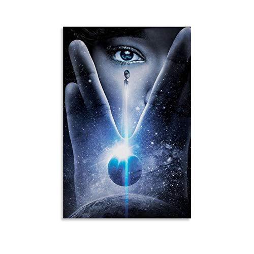 Star Trek Discovery Poster, dekoratives Gemälde, Leinwand, Wandkunst, Wohnzimmer, Schlafzimmer, Malerei, 20 x 30 cm