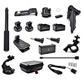 STARTRC OSMO Pocket 2 Expansion Accessories Kit,Handheld Action Camera Mounts for DJI Pocket 2