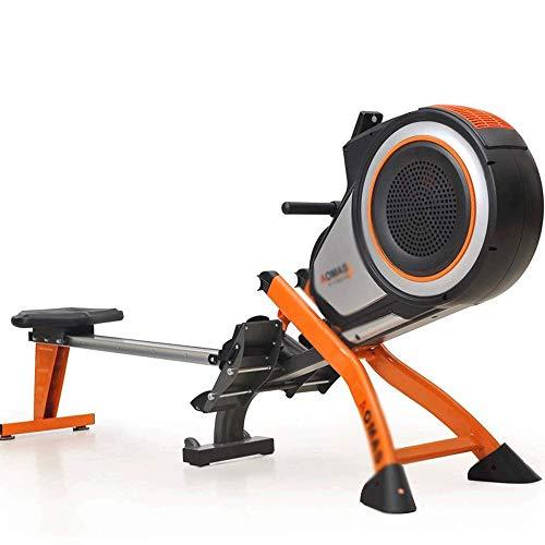 WJFXJQ Máquina de Remo, aparatos de Gimnasia Máquina de Entrenamiento for el Uso casero Construido en Ruedas for Estar es fácil de Mover Cuando no esté en Uso, 223 * 52 * 88cm