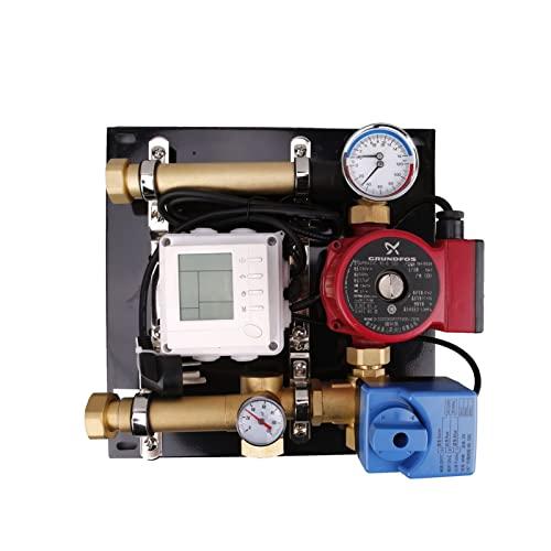 Programmierbarer Thermostat Fußbodenheizung Mischungswasserzentrum Fußbodenheizung Mischen Wasser Temperatursteuerung Integriertes Schmieden Haushaltsbodenheizung Energiesparende Druckbeaufschlagung i