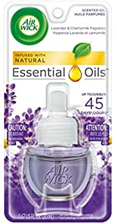 Air Wick Scented Oil Air Freshener, Lavender and Chamomile Scent, 1 Refill 0.67 oz