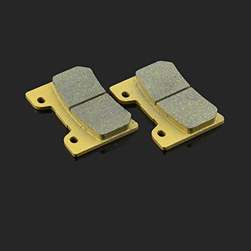 Fast Pro 74,8 X 53.9 X 10 MM 1 paire de plaquettes de frein avant pour MZ Yamaha FZR 600 90–93 TDM 850 96–01 FJ 1200 A 91–95