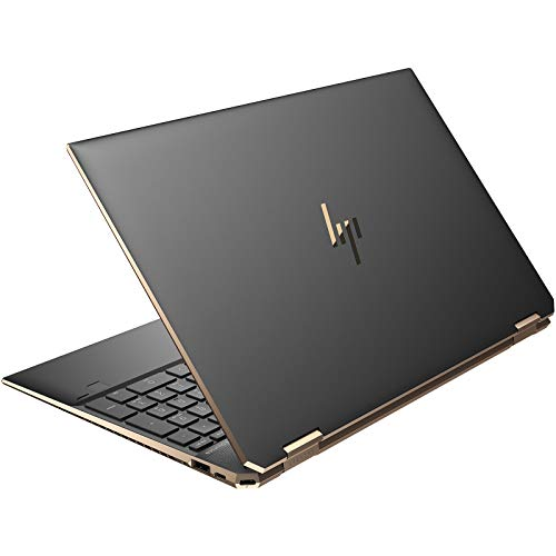 HP Spectre x360 15-eb0034TX 15-inch Laptop (10th Gen i7-10750H/8GB/512GB SSD/Windows 10 Home/4 GB Graphics), Night Fall Black