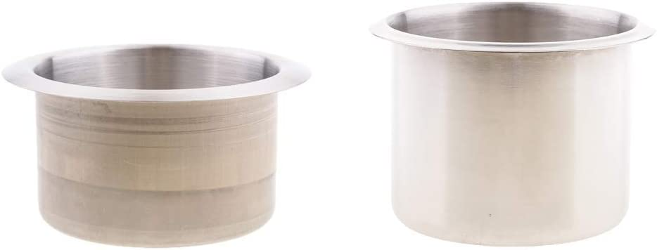 Yivibe Max 64% OFF Replacement Boat Parts 2X Recessed Stainless Cup Ho Steel Selling