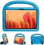 XunyLyee Funda Compatible para Samsung Galaxy Tab A7 2020, a prueba de golpes, ligera, con soporte, para Samsung Galaxy Tab A7 SM-T500/T505/T507 (10,4 pulgadas), color azul