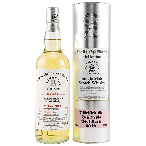 BEN NEVIS 2010/2020 10y Signatory Un-Chillfiltered Collection - Cask 130-46% Vol. 1x0,7L