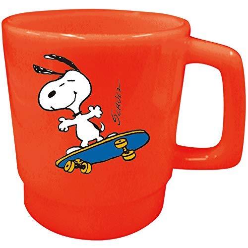 Ohnishi Ken Manufacturing Peanuts Snoopy kunststof beker (skateboard) 350 ml PA-521