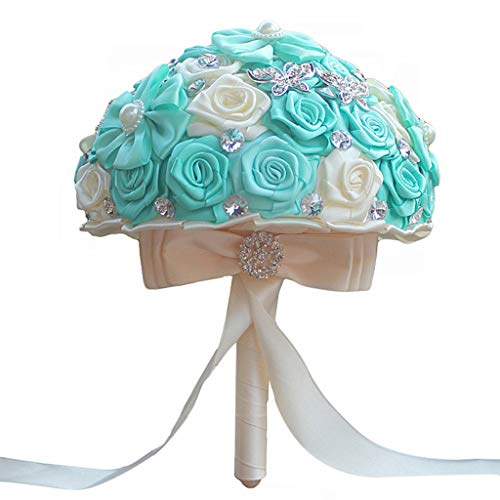 UYT Gorgeous Wedding Bridal Essential Accessories Bouquet Artificial Wedding Bouquet Decoration