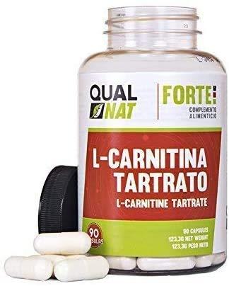L-Carnitina per aumentare le prestazioni sportive - Integratore alimentare di carnitina con funzioni brucia grassi ed antiossidanti naturali per aiutare a perdere peso durante lo sport - 90 cap