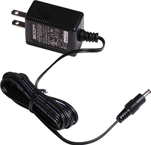 Zoom AD-14 AC Adapter, 5V AC Power Adapter Designed for Use with H4n, H4n Pro, ARQ AR-96, AR-48, UAC-2, R16, and R24