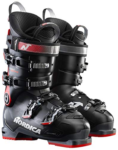 Nordica Speedmachine 110 Ski Boot Mens Black/Red 27.5