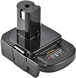 Battery Adapter for Dewalt for Milwaukee 20V/18V Li-Ion Battery Convert to for Ryobi 18V P108 ABP1801 Battery(DM18RL)