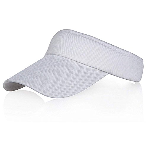 Multicolors Sun Visors for Women Girls, Long Brim Sweatband Adjustable Hat Caps