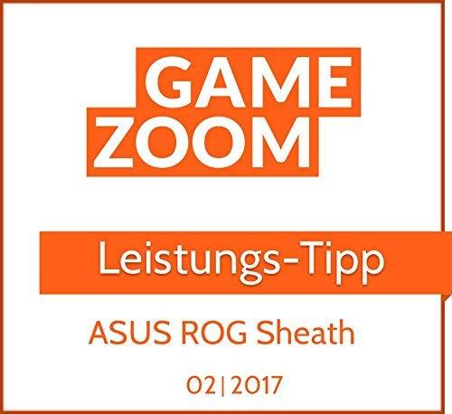 Asus ROG Sheath Gaming Mauspad (Tischunterlage, extra groß) schwarz/rot