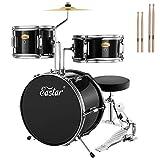 Drum Set Eastar 14 inch Drum Set for Kids, 3-Piece with Adjustable...