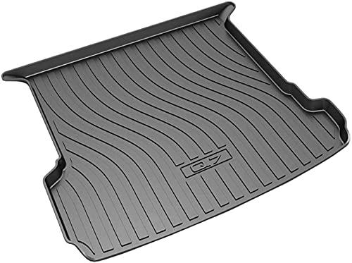 Auto Kofferraummatten Kofferraumwanne, für Audi Q7 2015-2021 Auto Wasserdicht Pad kratzfestem Staubdicht Auto Kofferraumschutz Matte Zubehör