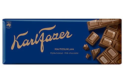 Fazer Karl Fazer Milk Czekolada 1 bar of 200g