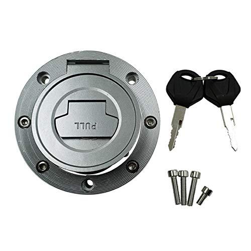 Aluminum Motorcycle Fuel Gas Cap Tank Cover Lock For YAMAHA YFZ1000 R1 2007-2011 YFZ600 R6 2006-2011