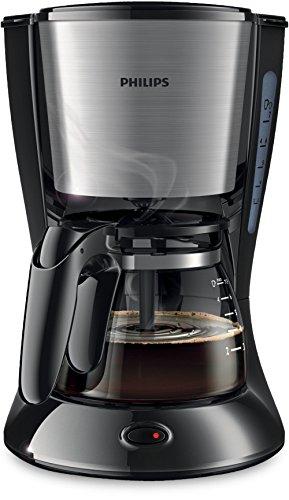 Philips Daily Collection - Cafetera (Independiente, Drip coffee maker, Americano, Café, Negro, De plástico, Acero inoxidable, 5060 Hz)