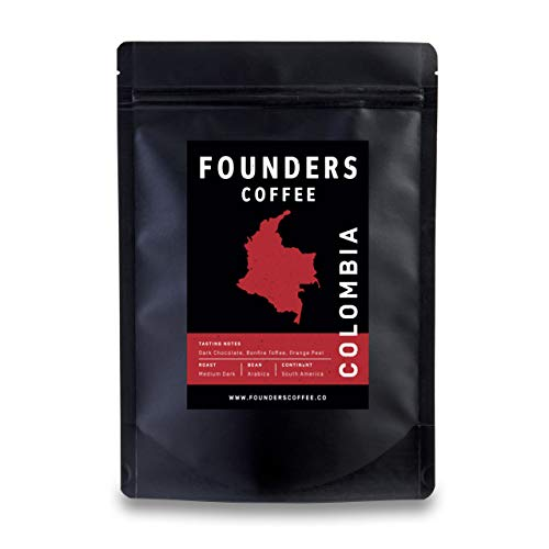 Founders Coffee - Colombia - Premium Coffee Medium Roast 100% Arabica