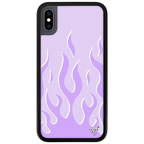 Wildflower Limited Edition Cases Compatible with iPhone X and XS (Lavender Flame)