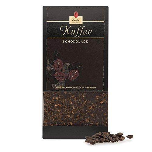 Leysieffer - Halbherbe Schokolade mit geschroteten Kaffeebohnen